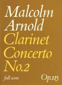 Malcolm Arnold: Clarinet Concerto No.2