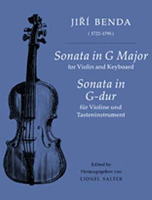 Jirí Antonín Benda: Sonata in G