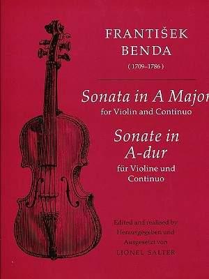 Frantisek Benda: Sonata in A