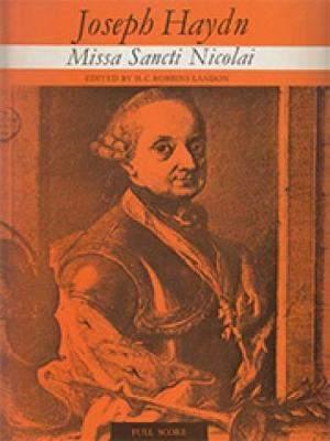 Haydn, Franz Joseph: Missa Sancti Nicolai (score)