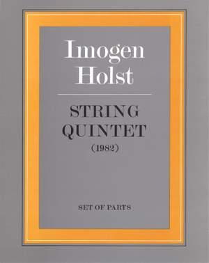Imogen Holst: String Quintet (parts)