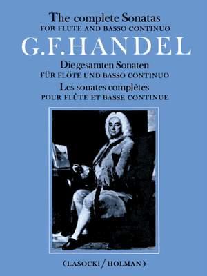 Handel, George Frideric: Complete Flute Sonatas