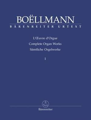 Boëllmann, Léon: The organ works published during his lifetime
