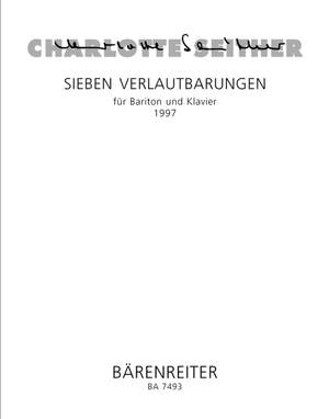 Seither, C: Sieben Verlautbarungen (Seven Announcements) (1997)