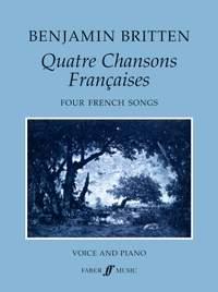 Benjamin Britten: Quatre Chansons Francaises