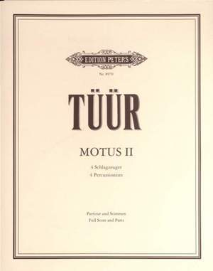 Tüür, E: Motus II