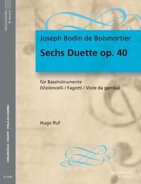 Boismortier, J: 6 Duets, Op.40