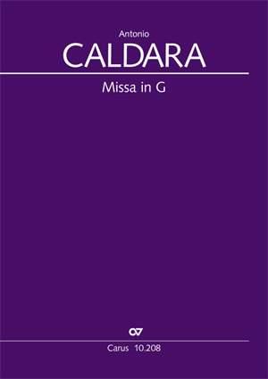 Caldara: Missa in G (Messe in G) (G-Dur)