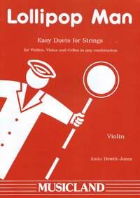 Anita Hewitt Jones: Lollipop Man (Violin)