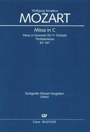 Mozart: Missa in C (KV 167; C-Dur)