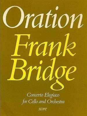Frank Bridge: Oration
