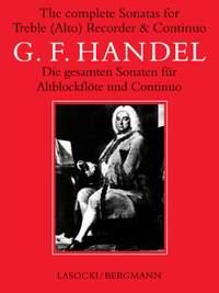 Georg Friedrich Händel: Complete Sonatas For Treble Recorder