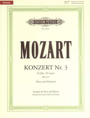 Mozart: Horn Concerto No.3 in E flat K.447