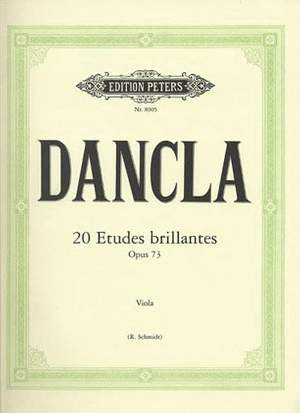 Dancla, C: 20 Etudes brillantes Op.73