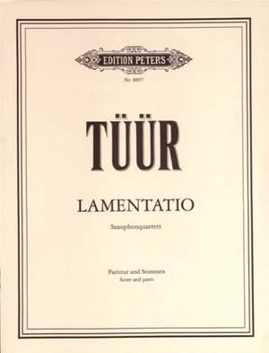 Tüür, E: Lamentatio
