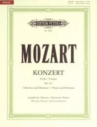 Mozart: Concerto No.7 in F for 3 Pianos K242