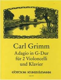 Grimm, Carl: Adagio G-Dur
