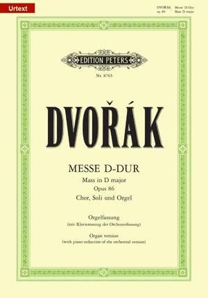 Dvorák: Mass in D Op.86