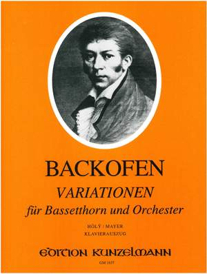 Backofen, Johann Georg Heinrich: Variationen für Bassetthorn