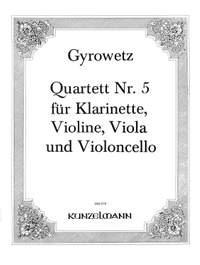 Gyrowetz, Adalbert: Quartett Nr.5 Es-Dur