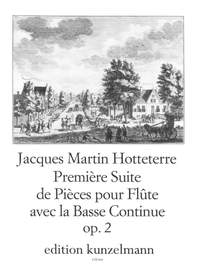 Hotteterre, Jacques Martin  (le Romain): Première Suite  op. 2/1