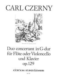 Czerny, Carl: Duo concertant G-Dur op. 129