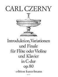 Czerny, Carl: Introduktion, Variationen und Finale C-Dur op. 80