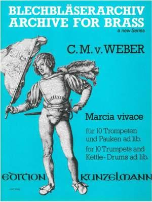 Weber, Carl Maria von: Marcia vivace