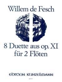 de Fesch, Willem: 8 Duette für 2 Flöten  op. 11