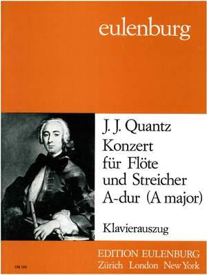 Quantz, Johann Joachim: Konzert für Flöte A-Dur QV 5:224