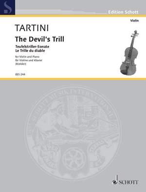 Tartini, Giuseppe: The Devil`s Trill Product Image