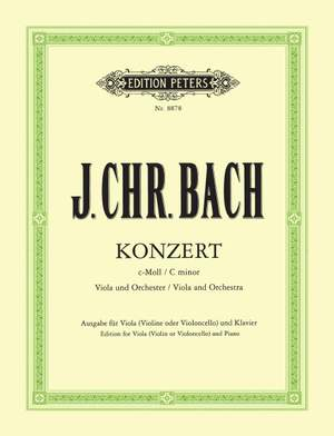 Bach, J.C: Concerto in C minor