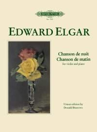 Elgar, E: Chanson de matin; Chanson de nuit