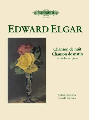 Elgar, E: Chanson de matin; Chanson de nuit Product Image
