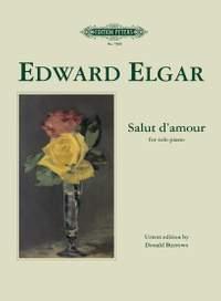 Elgar, E: Salut d'amour