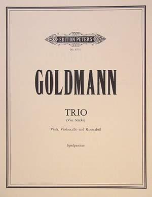 Goldmann, F: Trio (4 Stücke)