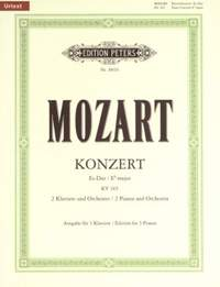 Mozart: Concerto No.10 in E flat for 2 Pianos K365