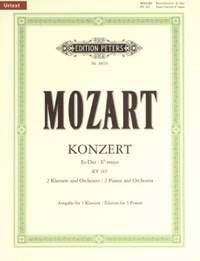 Mozart: Concerto No.10 in E flat for 2 Pianos K365