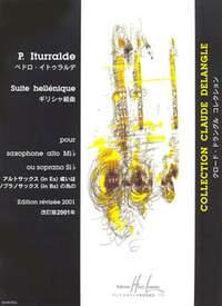 Pedro Iturralde: Suite Hellenique (saxophone and piano)