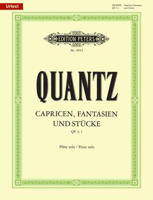 Quantz, J: Caprices and Fantasies