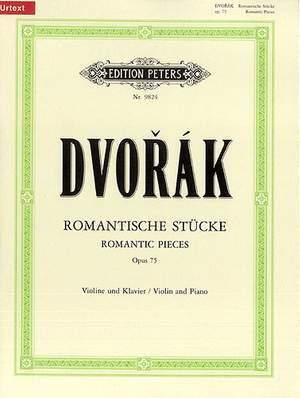 Dvorák: Romantic Pieces Op.75