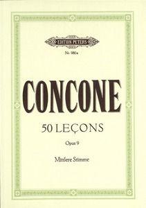Concone, G: 50 Leçons Op.9