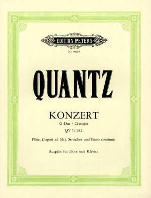 Quantz, J: Flute Concerto in G Major QV 5:182