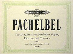 Pachelbel, J: Organ Works, in 2 volumes, Vol.1