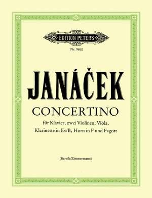 Janácek, L: Concertino