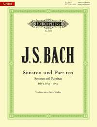 Bach, J.S: The 6 Solo Sonatas and Partitas BWV 1001-1006