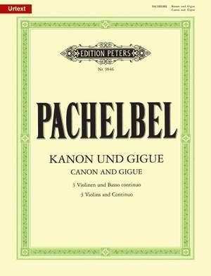 Pachelbel, J: Canon & Gigue in D