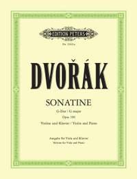 Dvorák: Sonatine in G Op.100