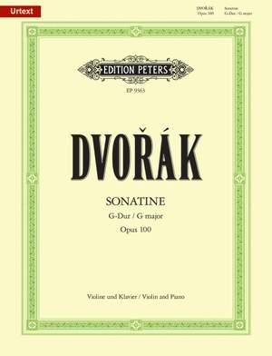 Dvorák: Sonatine in G Op.100 for Violin & Piano