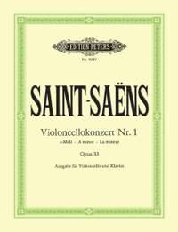 Saint-Saëns, C: Concerto No.1 in A minor Op.33